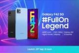 Samsung представит новый недорогой смартфон Galaxy F42 5G 29 сентября